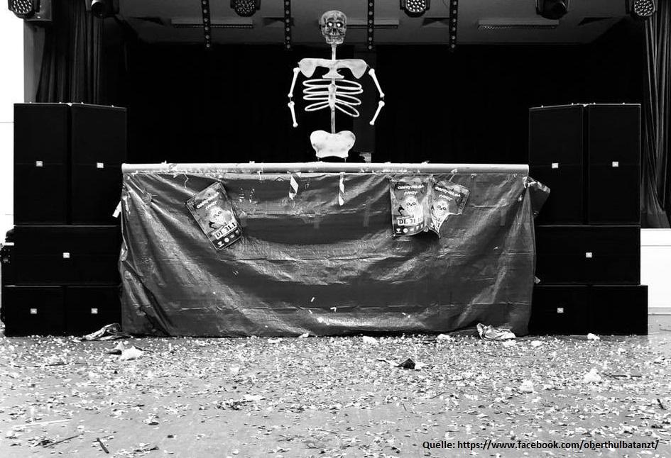 """Sachstand zur Reizgasattacke bei der Halloween-Party """"Oberthulba tanzt"""""""