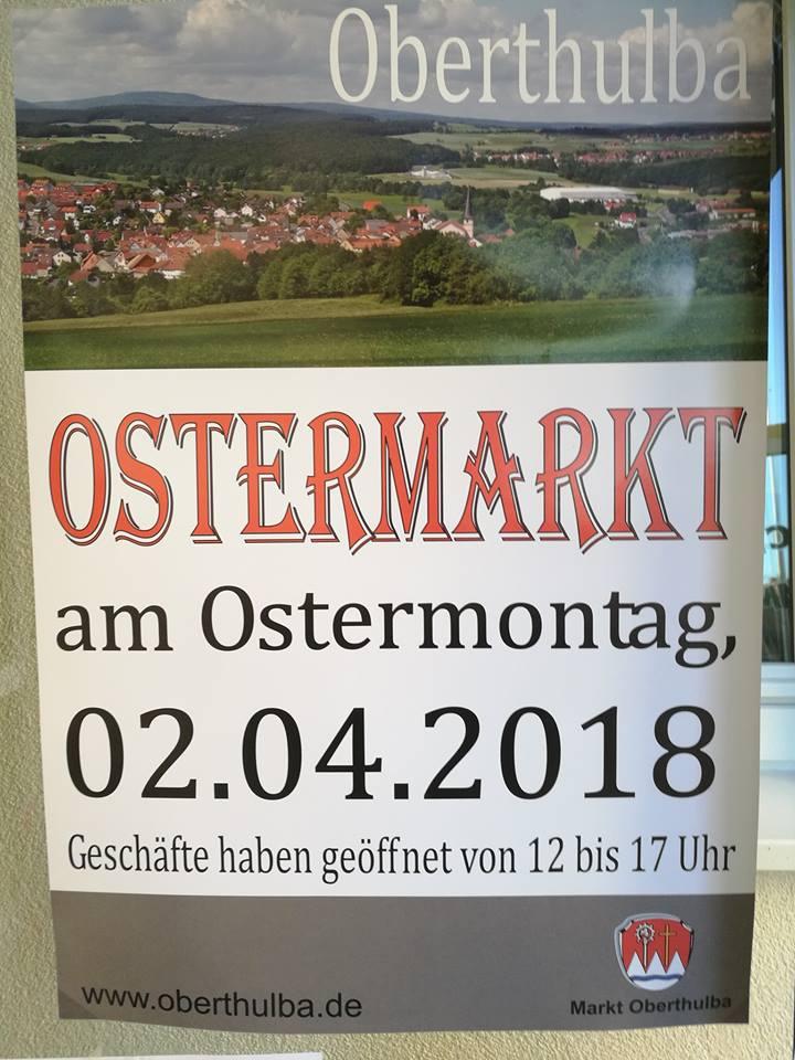 Ostermarkt in Oberthulba