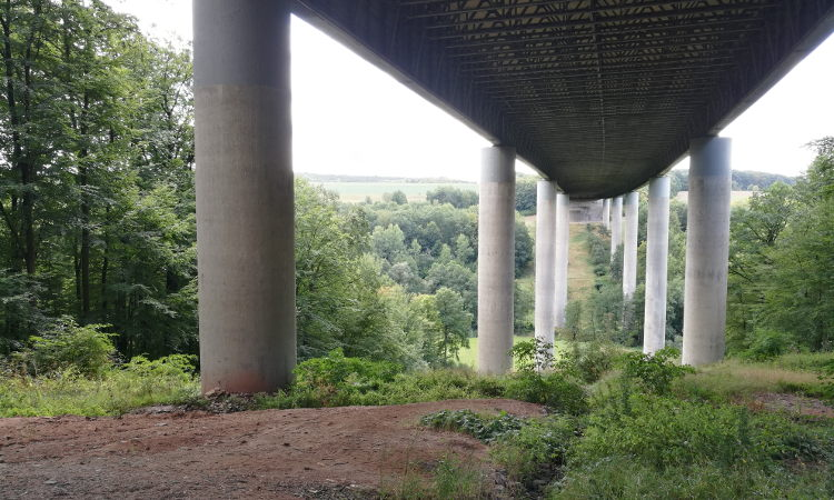 Kein verbesserter Lärmschutz beim Ersatzneubau der Thulbatalbrücke